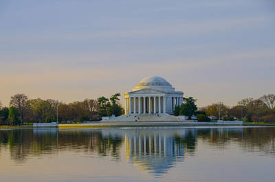 Jefferson Memorial Digital Art - Thomas Jefferson Memorial by Bill Cannon