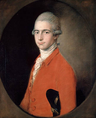 18th Century Painting - Thomas Linley The Younger by Thomas Gainsborough