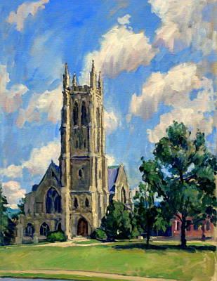 Thompson Chapel Williams College Original by Thor Wickstrom