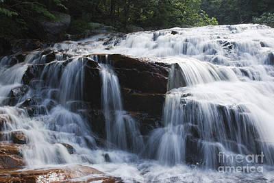 Thoreau Falls - White Mountains New Hampshire Usa Print by Erin Paul Donovan