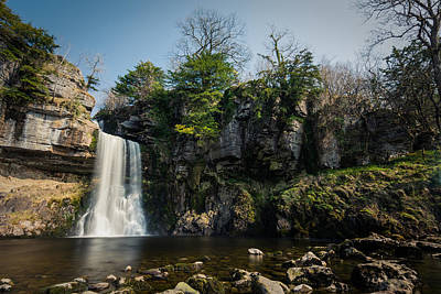 Thornton Force Waterfall In Ingleton Yorkshire. Print by Daniel Kay