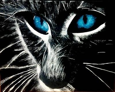Those Eyes Original by Michele Sarkauskas