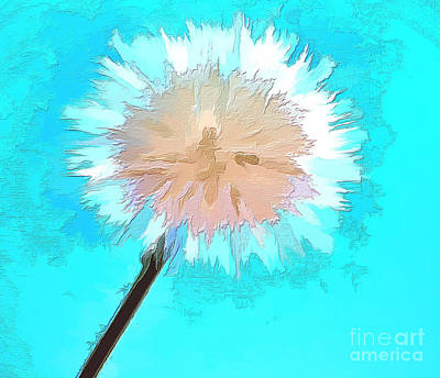 Abstract Digital Photograph - Thoughtful Wish by Krissy Katsimbras