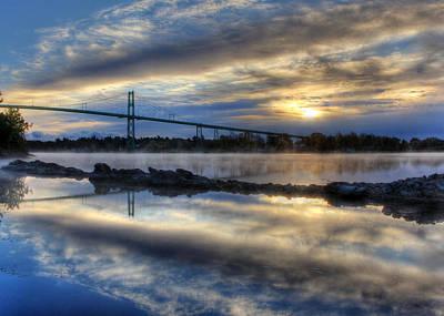Lawrence Photograph - Thousand Islands Bridge by Lori Deiter
