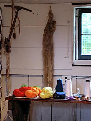 Knitting Photograph - Thread And Yarn by Susan Savad