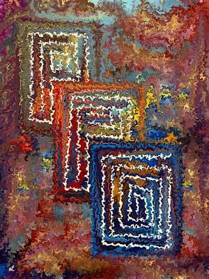Three Doors Print by Rafi Talby