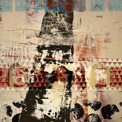 Mental Photograph - Three Faces by Carol Leigh
