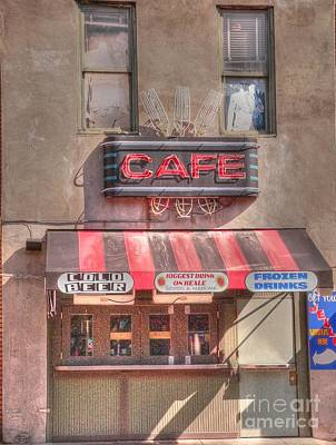 Three Forks Cafe Print by David Bearden