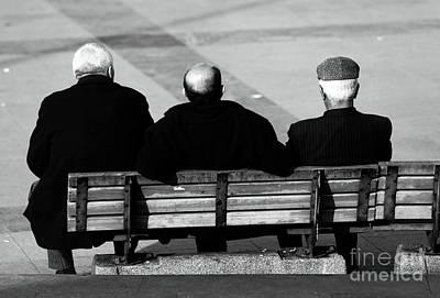 Three Wise Men Print by John Rizzuto