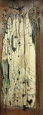 Through The Cracks Print by Konrad Geel