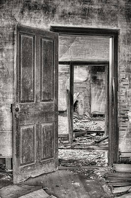 Old House Photograph - Through The Doors Of Time by JC Findley