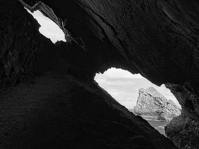 Through The Keyhole Print by Tim Haynes