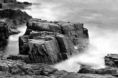 Acadian Photograph - Thunder Along The Acadia Coastline - No 1 by Thomas Schoeller