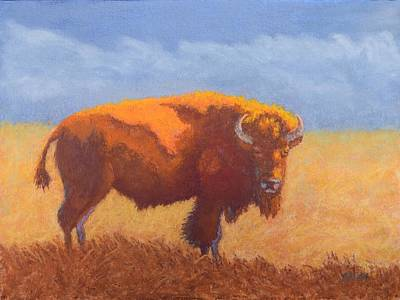 Thunder On The Prairie Original by Nancy Jolley