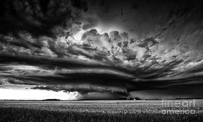 Prairie Storm Photograph - Thunder On The Prairies by Dan Jurak