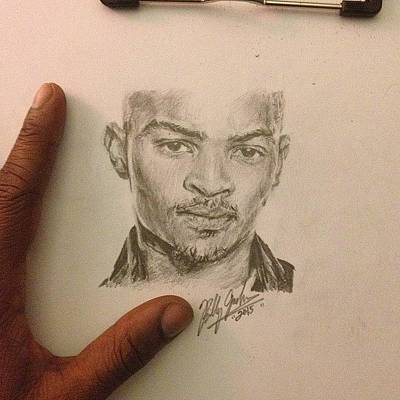 Hillary Clinton Drawing - T.i. by Billy Jackson