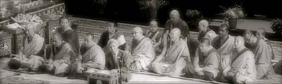 Tibetan Monks Original by Kate Purdy