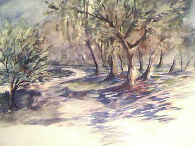 Tidal Basin Painting - Tidal Basin by Julie Morrison