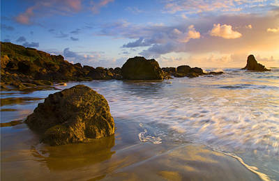 Headlands Photograph - Tidal Flow by Mike  Dawson