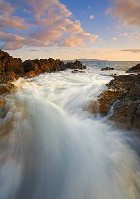 Tidal Photograph - Tidal Surge by Mike  Dawson