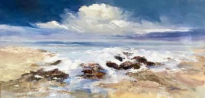 Painting - Tidepool by Helen Harris