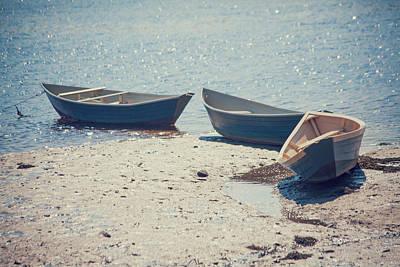 Coastal Maine Photograph - Tied Together by Karol Livote