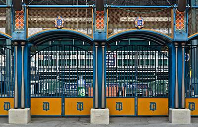 Detroit Tigers Photograph - Tigers Baseball by Frozen in Time Fine Art Photography