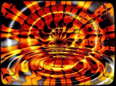 Tiger's Eye Print by Robert Orinski