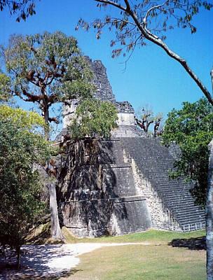 Maya Photograph - Tikal Iv by Kurt Van Wagner