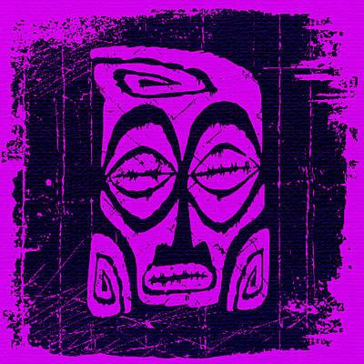 She-devil Mixed Media - Tiki Taboo by Tiki Bender