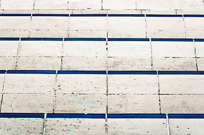 Tiled Steps Print by Tom Gowanlock