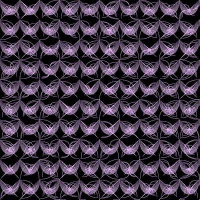 Monochrome Digital Art - Tiles.2.103 by Gareth Lewis