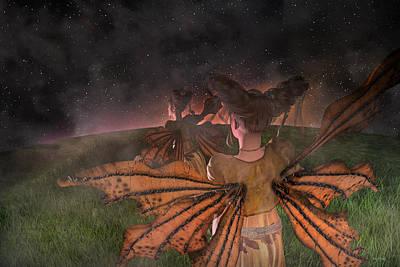 Elf Digital Art - Till I See You Again  by Betsy C Knapp