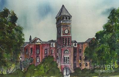 Clemson Painting - Tillman Hall One Clemson by Patrick Grills