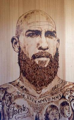 Goalie Pyrography Pyrography - Tim Howard by Coleman  Ban