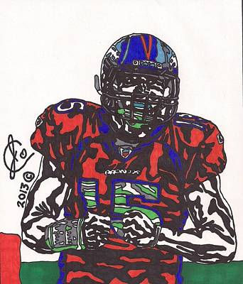 Tim Tebow Drawing - Tim Tebow 3 by Jeremiah Colley