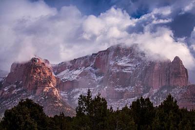 Kolob Photograph - Timber Top Mountain by Rob Travis