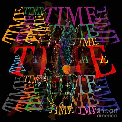 Dali Like Digital Art - Extraordinary Time  M1 by Johannes Murat
