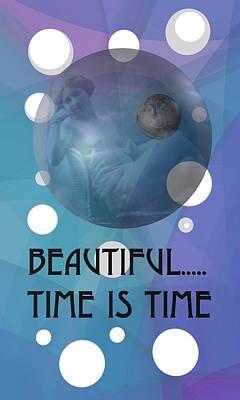 Space Digital Art - Time Is Time 1 by Alberto RuiZ