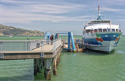 Sausalito Photograph - Time To Catch A Ferry To San Francisco. by Gino Rigucci