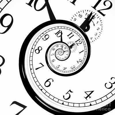 Fantasy Photograph - Time Warp - Time Dilation. Quantum Mechanics Meets General Relativity. by Dani Prints and Images