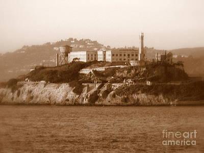 Timeless Alcatraz Print by Carol Groenen