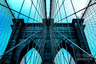 New York Skyline Photograph - Timeless Arches by Az Jackson