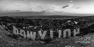 Los Angeles Skyline Photograph - Timeless Classic by Art K