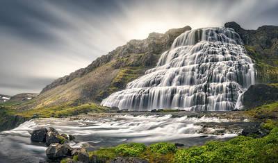 Waterfall Photograph - Timeless by Stefan Mitterwallner