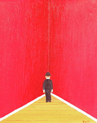 Surrealism Painting - Timeout by Thomas Blood