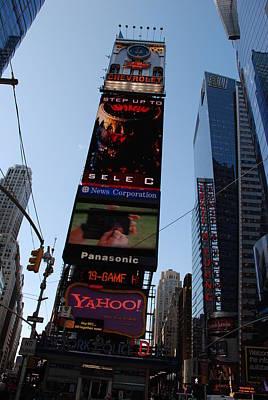 Times Square Print by Rob Hans
