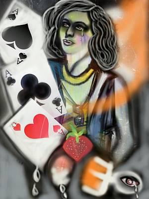 Times Up Gypsy  Print by Pat Carafa