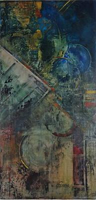 Painting - Timethief by Helen Harris