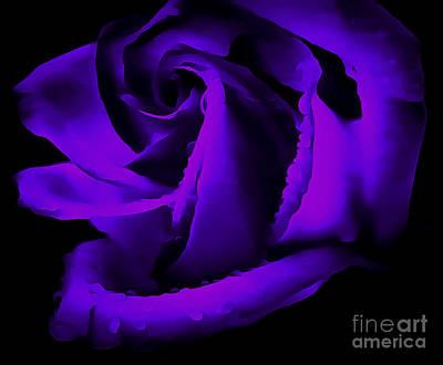 Flower Abstract Photograph - Timeless Romance by Krissy Katsimbras